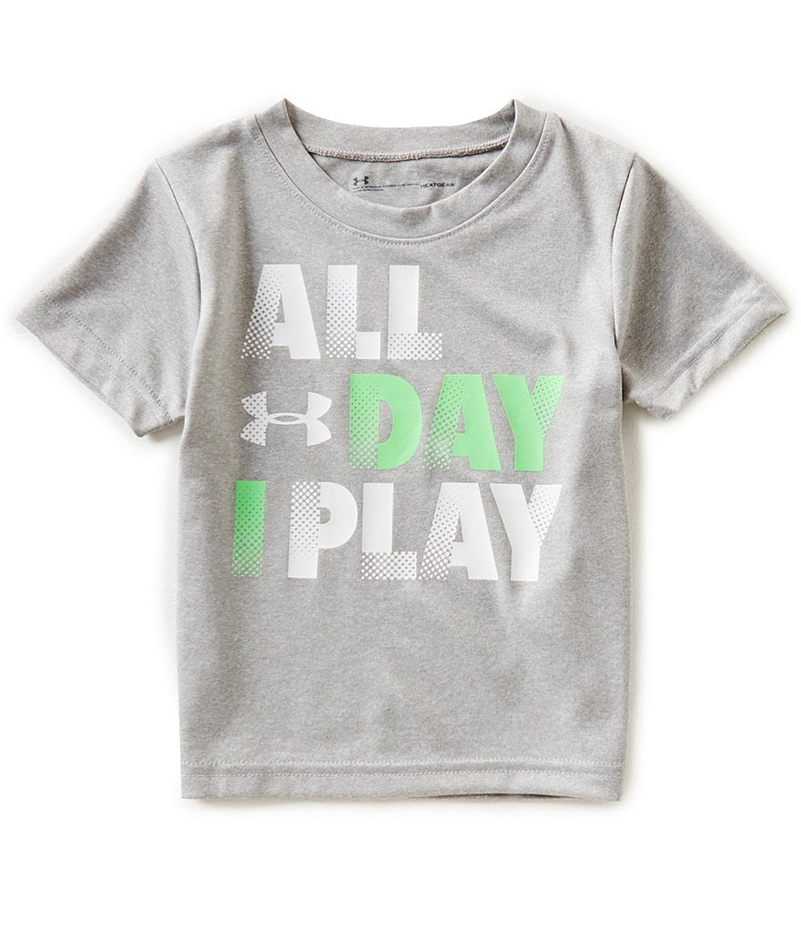 Under Armour Baby Boys 12-24 Months Short-Sleeve All Day I Play Tee