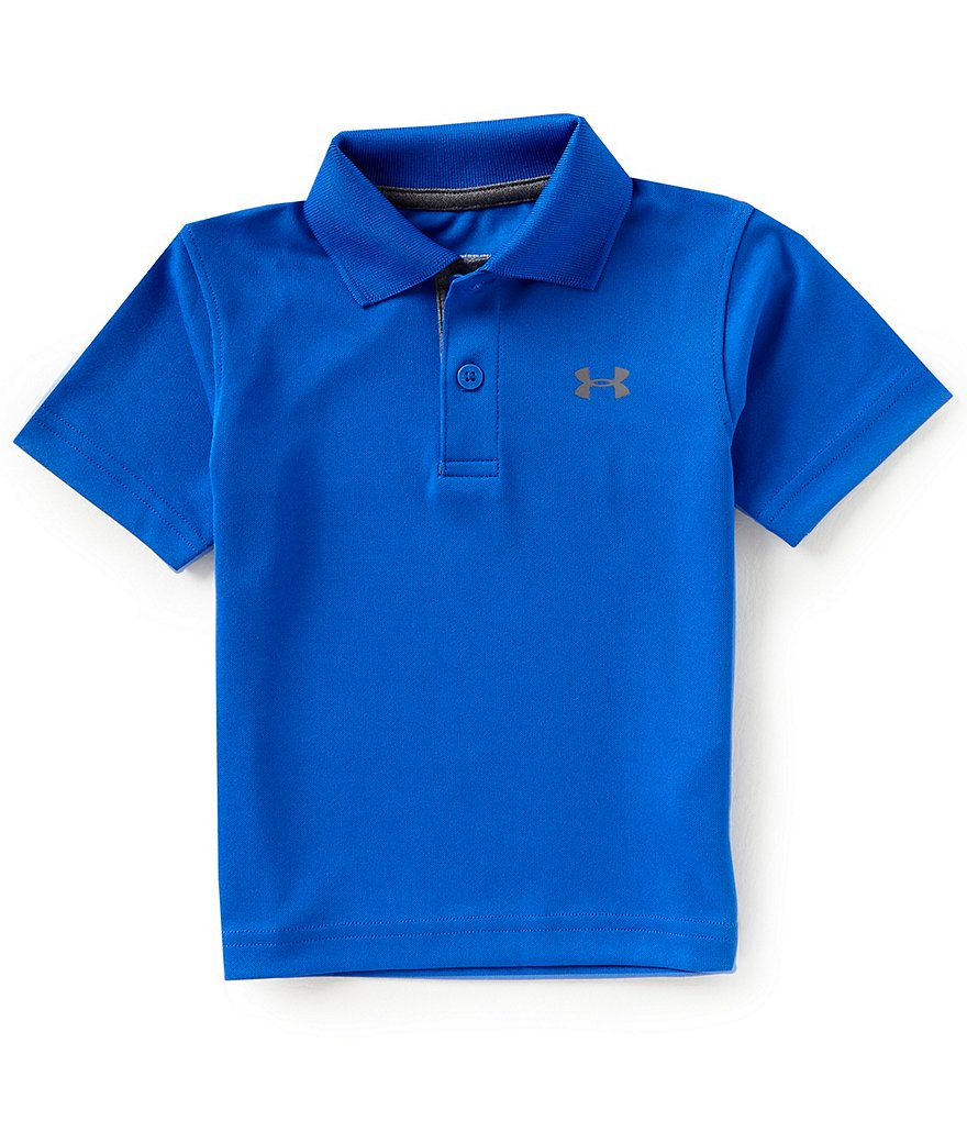 Under Armour Baby Boys 12-24 Months Short-Sleeve Solid Match Play Polo Shirt