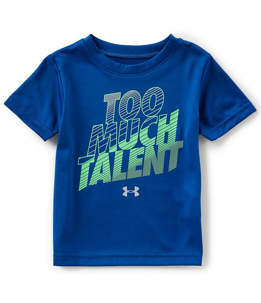 Under Armour Baby Boys 12-24 Months Short-Sleeve Too Much Talent Tee