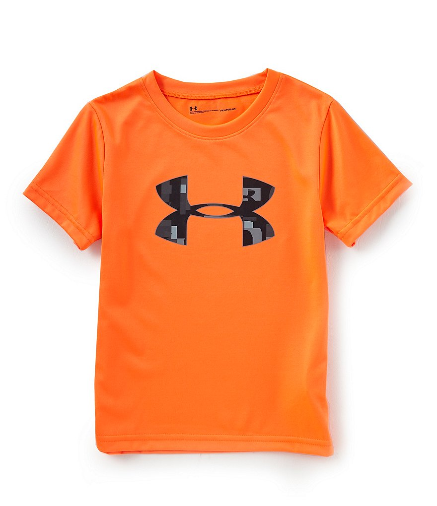Under Armour Baby Boys 12-24 Months Short-Sleeve Wordmark Big Logo Tee