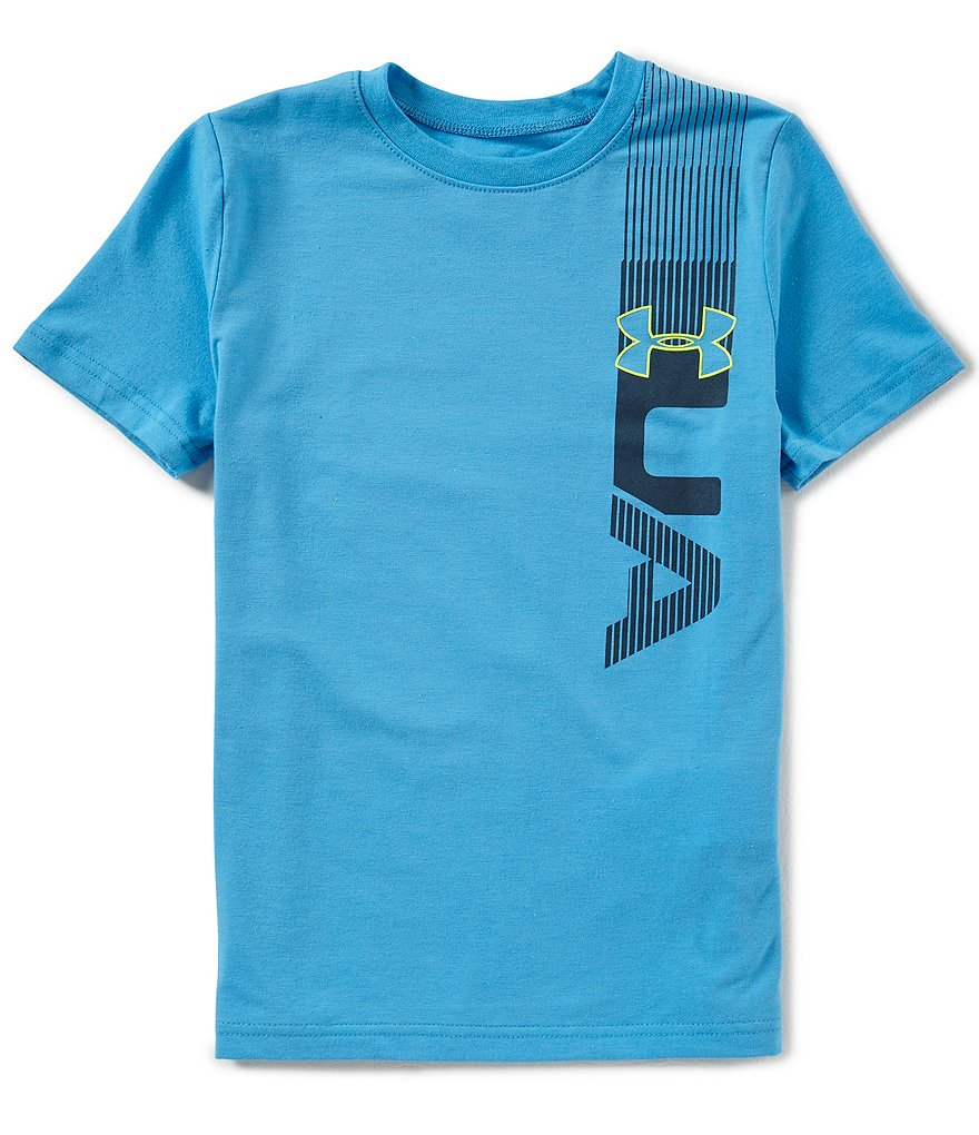 Under Armour Big Boys 8-20 One Sided Short-Sleeve Tee