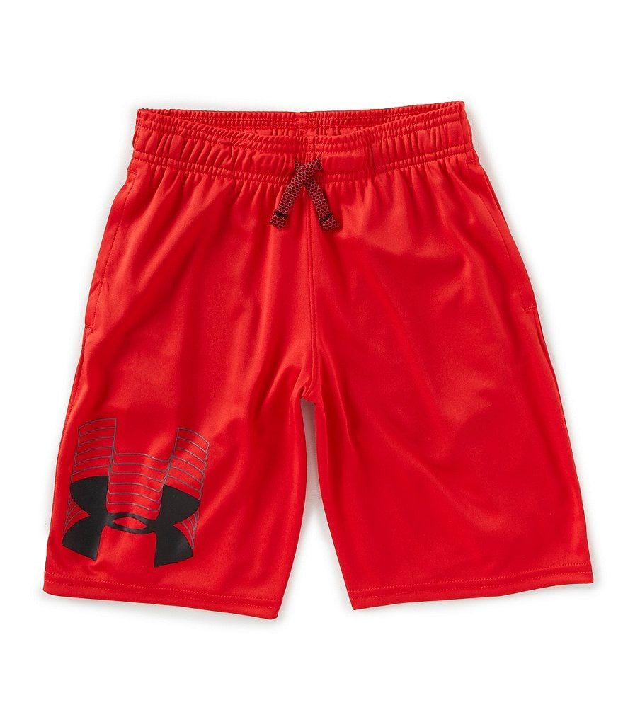 Under Armour Big Boys 8-20 Prototype Logo Shorts