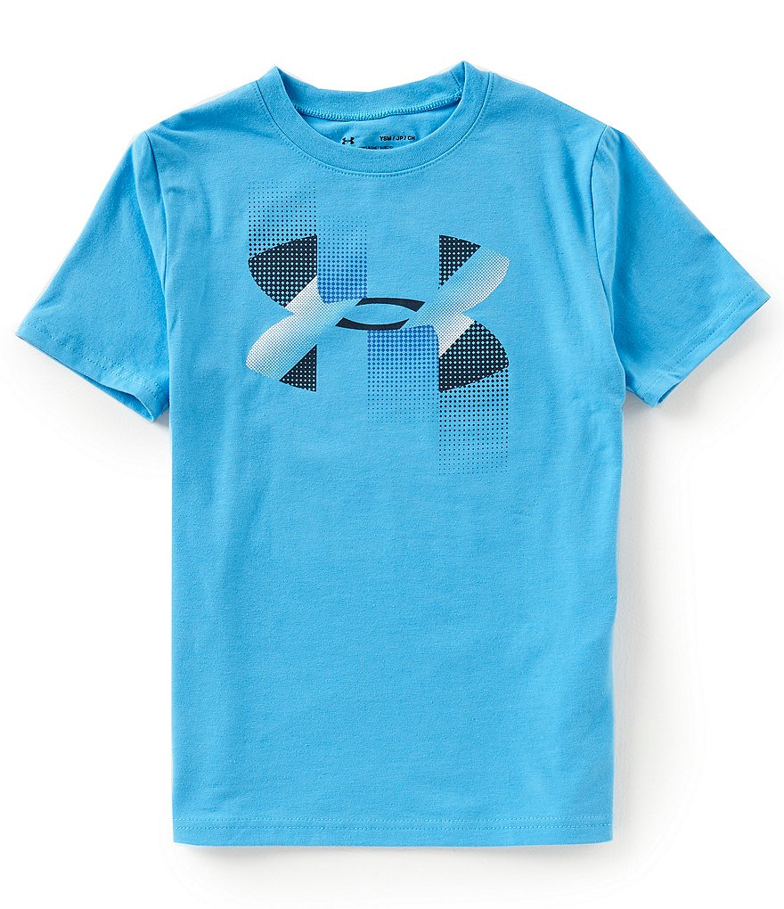 Under Armour Big Boys 8-20 Short-Sleeve Rapid Logo Tee