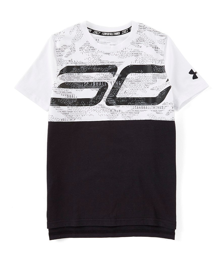 Under Armour Big Boys 8-20 Short-Sleeve SC30 Graphic Tee