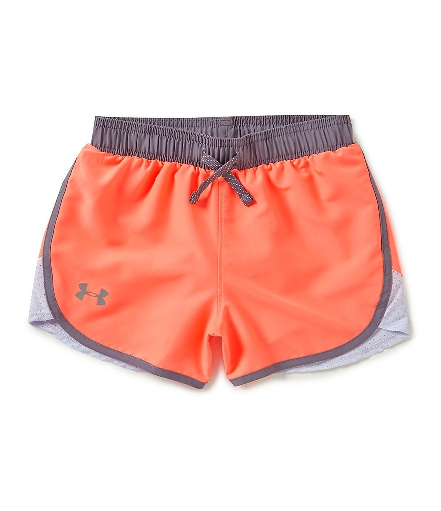 Under Armour Big Girls 7-16 Fast Lane Shorts