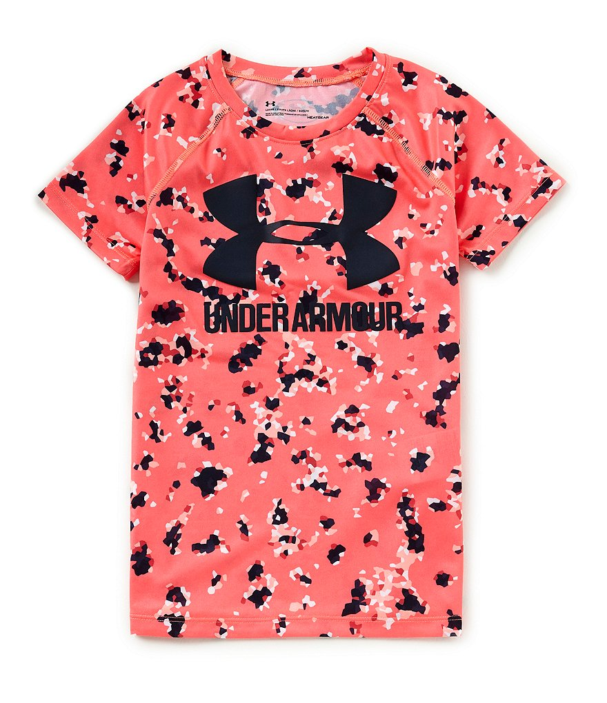 Under Armour Big Girls 7-16 Novelty Big Logo Tee