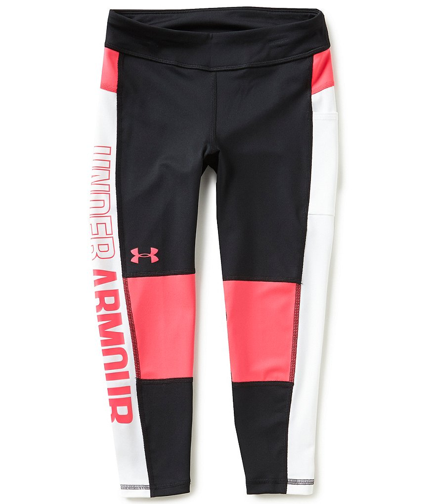 Under Armour Big Girls 7-16 Rock Block Leggings