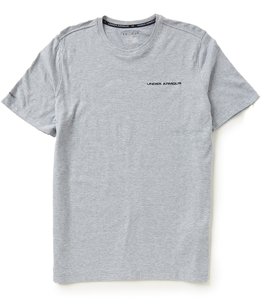 Under Armour Charged Cotton® Microthread Crewneck Tee