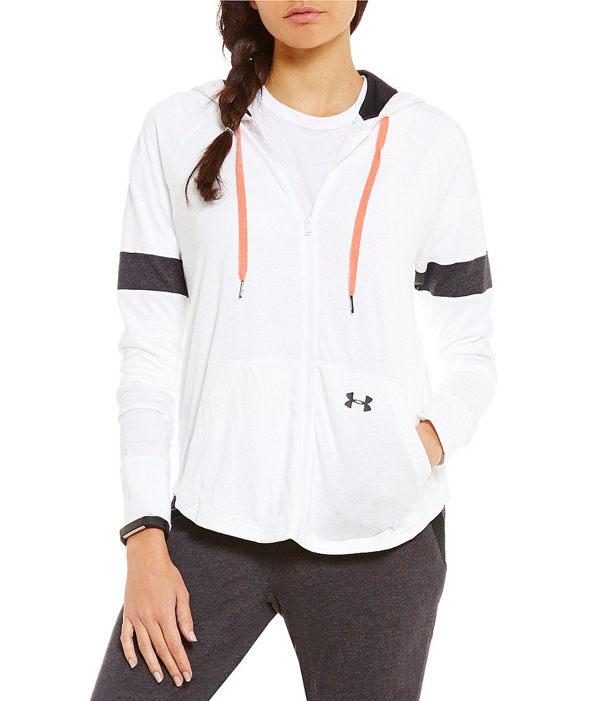 Under Armour Front Zip Triblend Hoodie