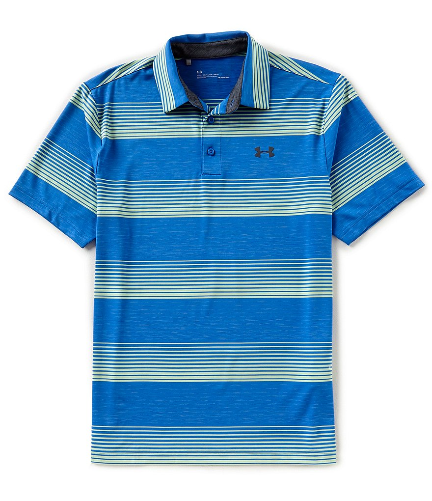 Under Armour Golf Blast Stripe Playoff Polo Shirt