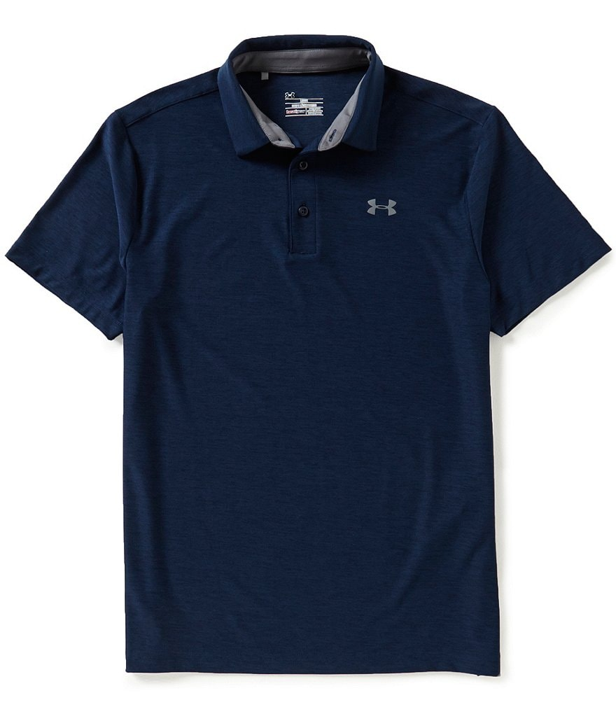under armour golf shirts. under armour golf playoff horizontal tonal stripe polo shirt shirts