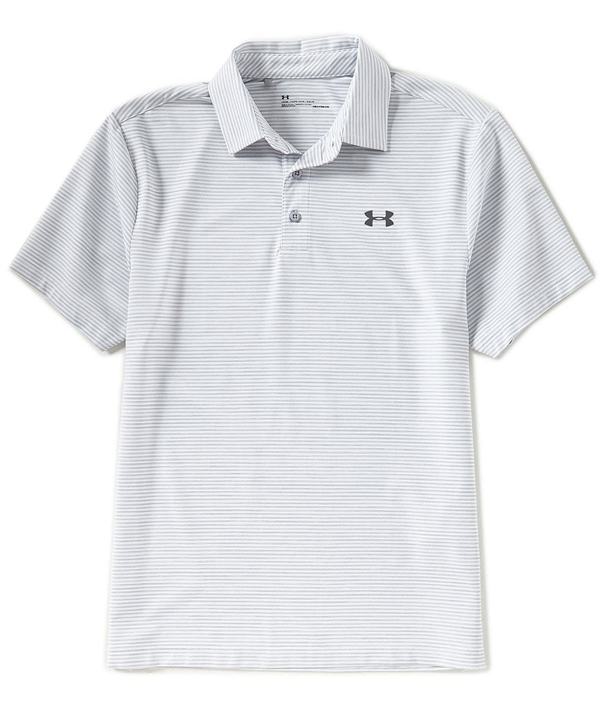 Under Armour Golf Rough Stripe Playoff Polo Shirt