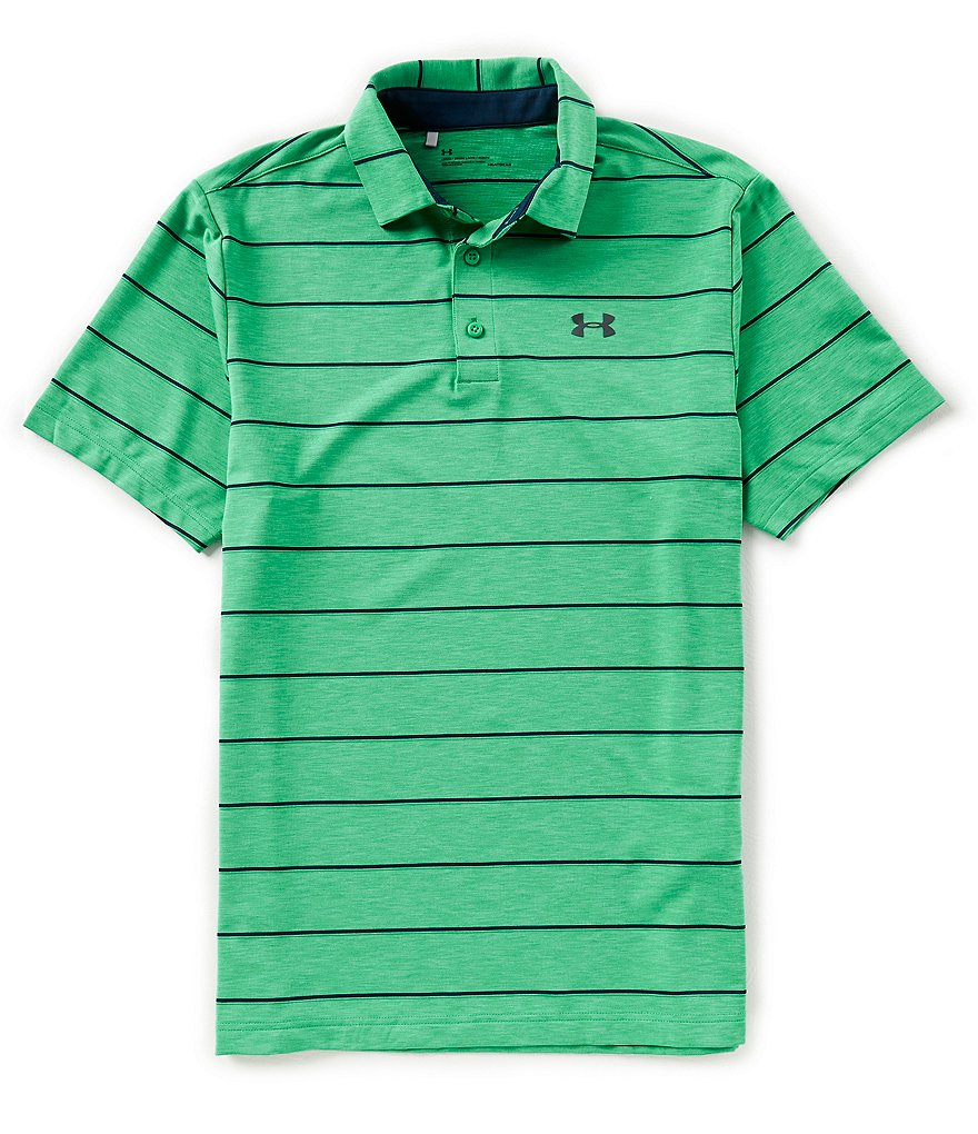 Under Armour Golf Zone Stripe Playoff Polo Shirt