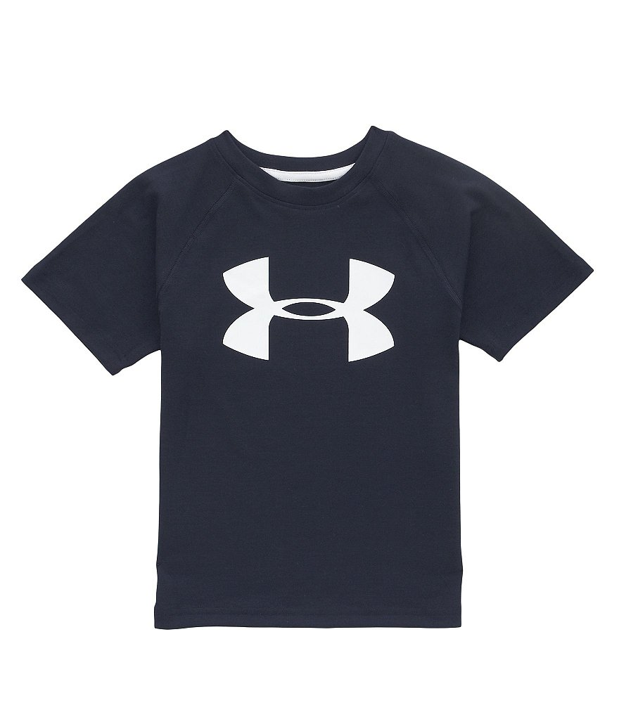 Under Armour Little Boys 2T-7 Big Logo Tech Tee