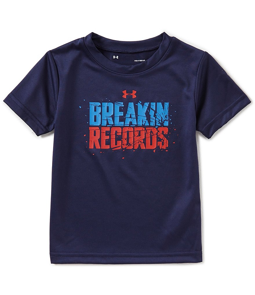 Under Armour Little Boys 2T-7 Breakin Records Short-Sleeve Tee
