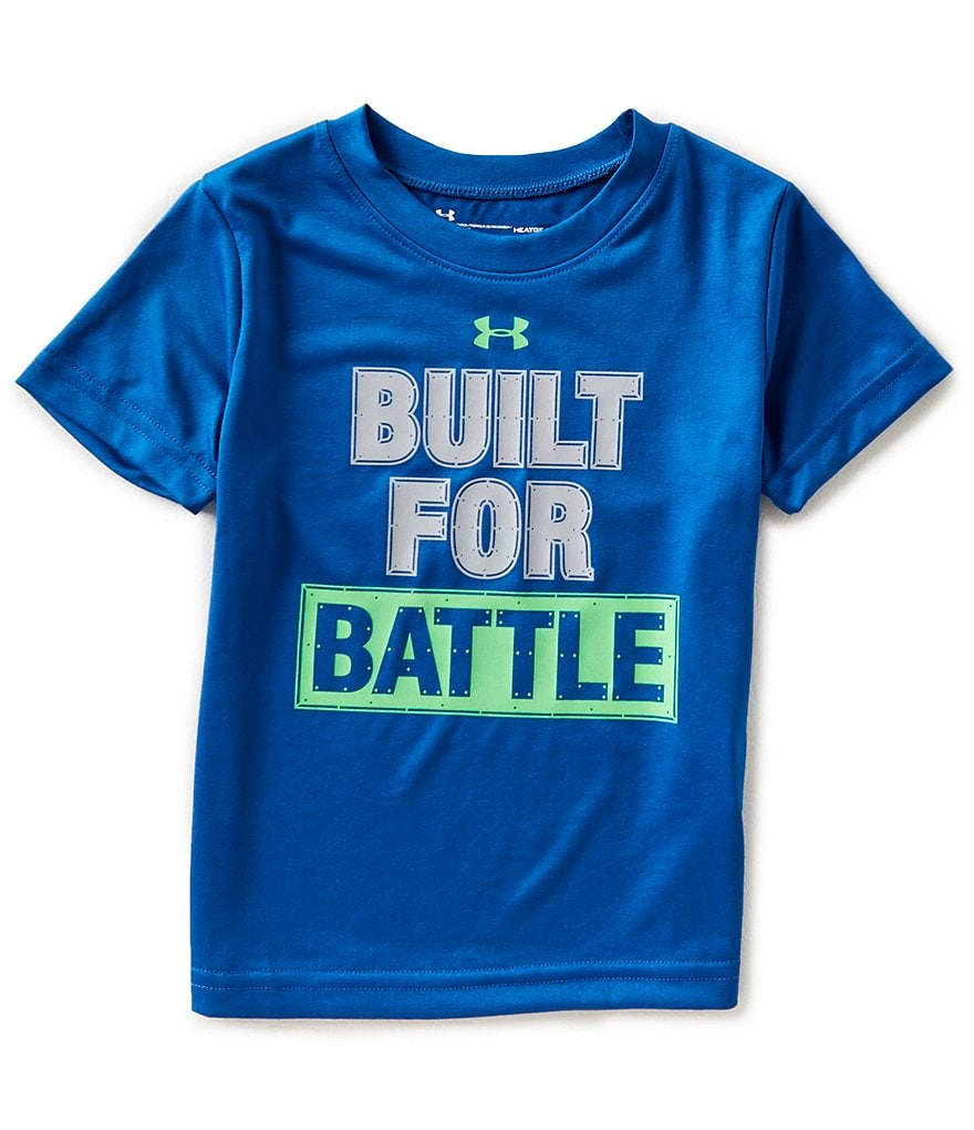 Under Armour Little Boys 2T-7 Built For Battle Short-Sleeve Tee