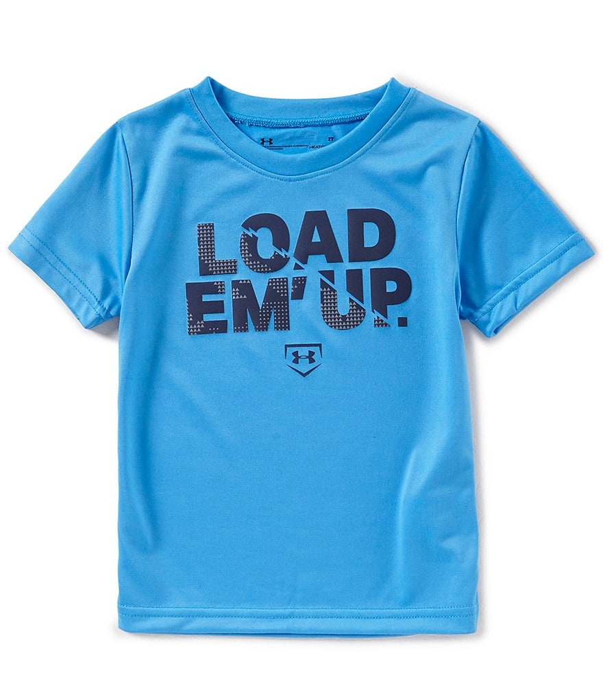 Under Armour Little Boys 2T-7 Load Em Up Short-Sleeeve Tee