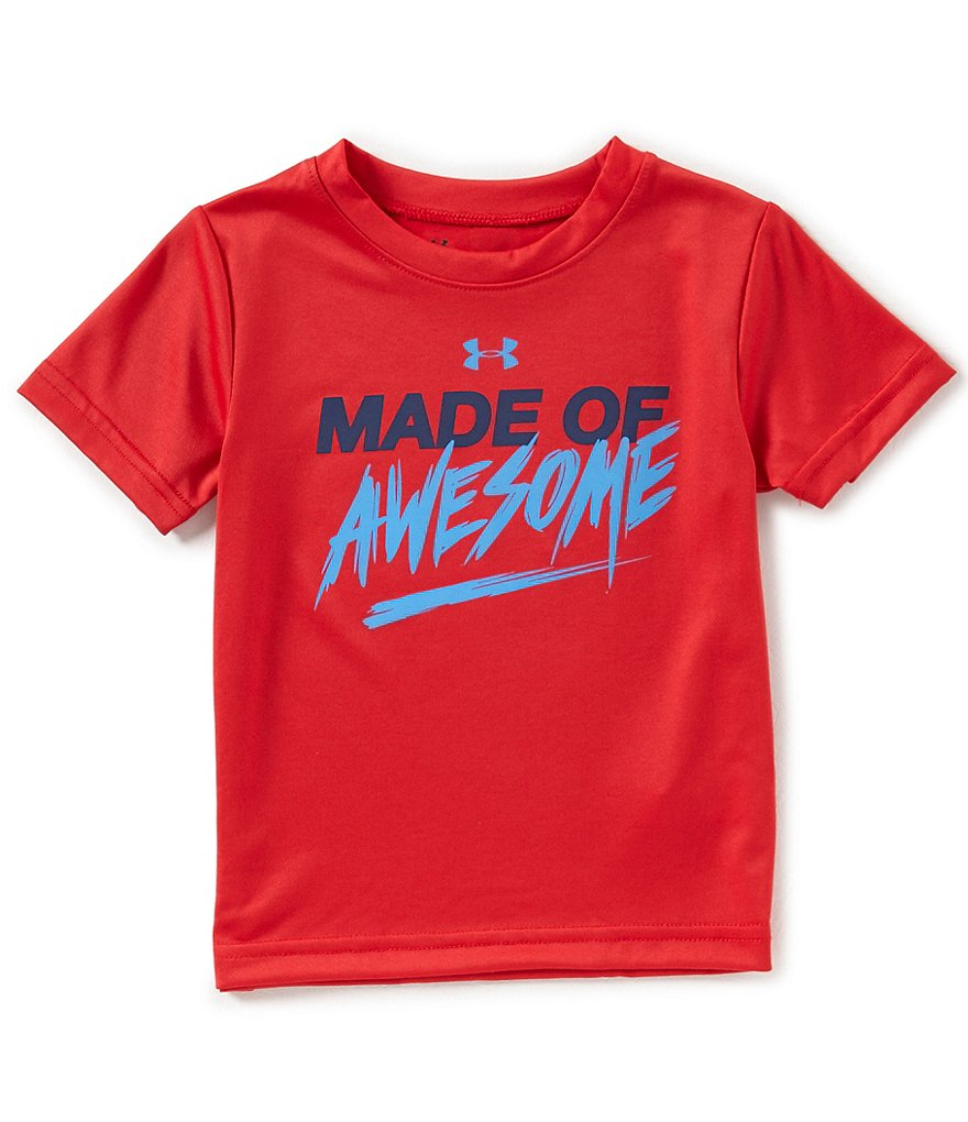 Under Armour Little Boys 2T-7 Made Of Awesome Short-Sleeve Tee