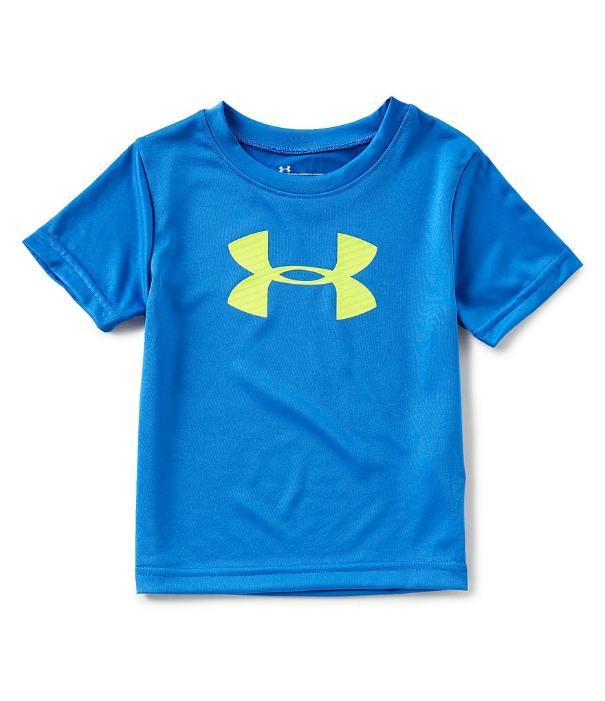 Under Armour Little Boys 2T-7 Short-Sleeve Large Logo Tee