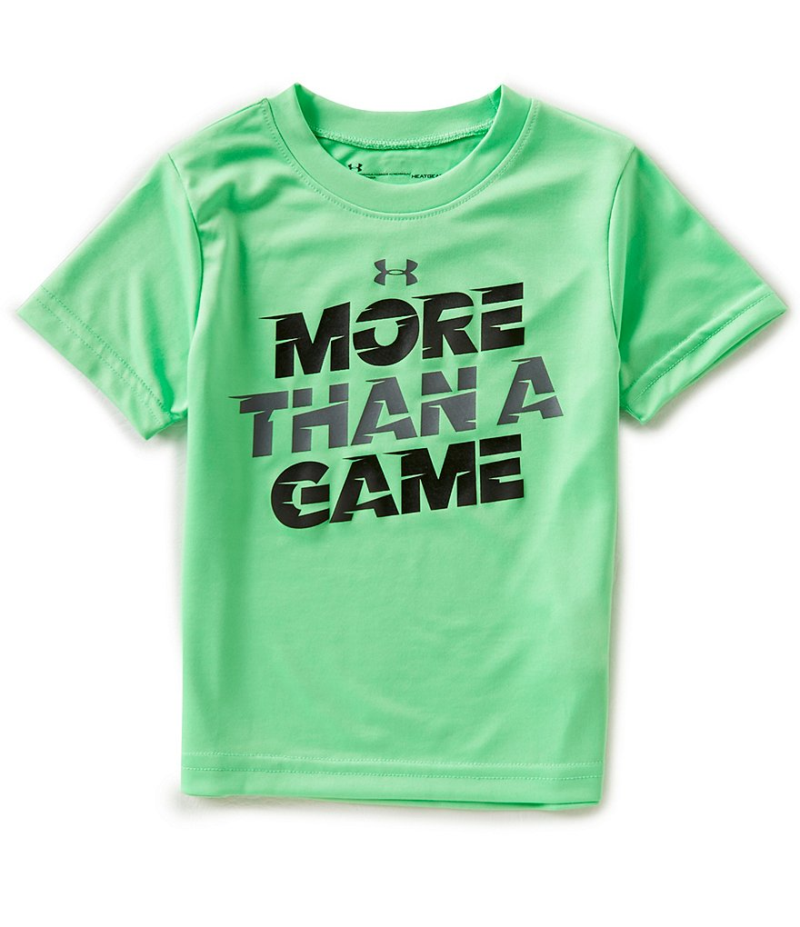 Under Armour Little Boys 2T-7 Short-Sleeve More Than A Game Tee