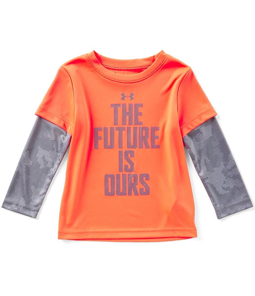 Under Armour Little Boys 2T-7 The Future Is Ours Two-Fer Tee