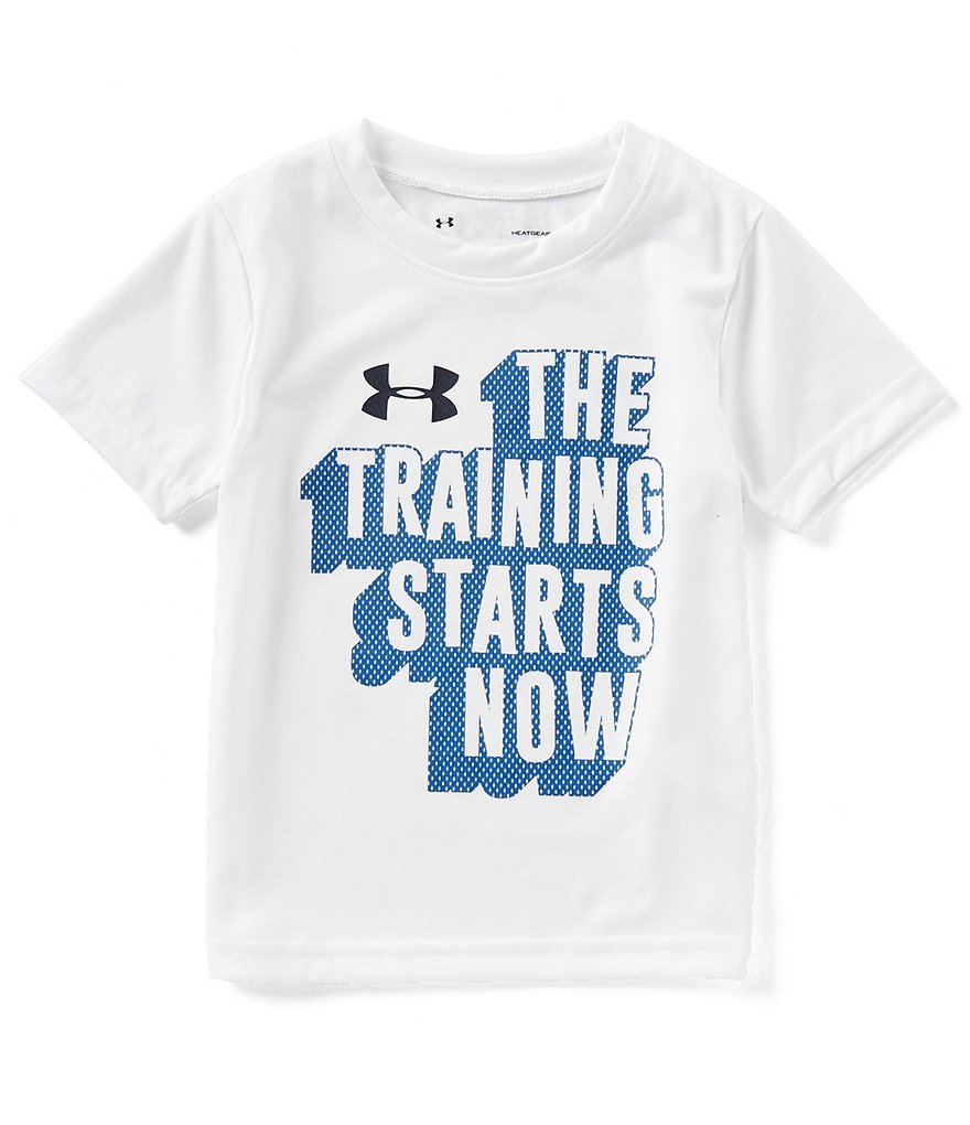 Under Armour Little Boys 2T-7 The Training Starts Now Tee
