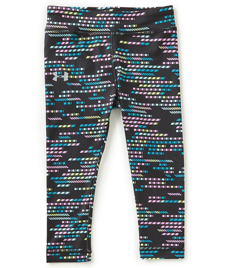 Under Armour Little Girls 2T-6X Gradient Geometric Printed Leggings