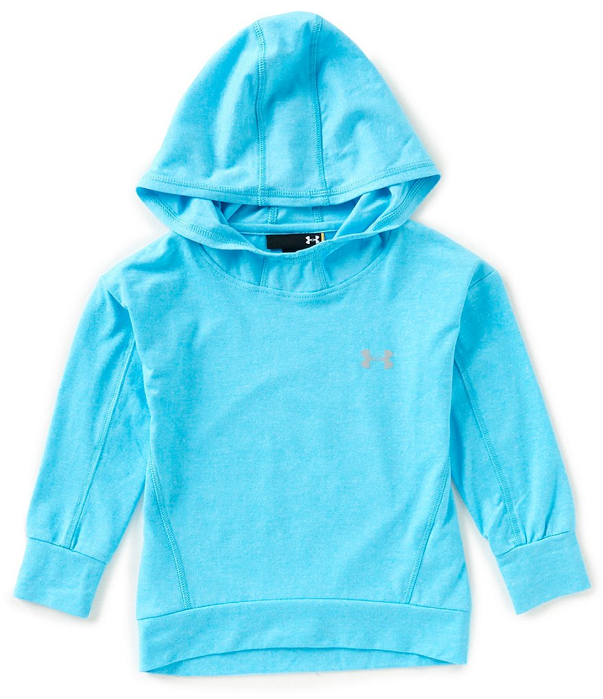 Under Armour Little Girls 2T-6X Long-Sleeve Hoodie