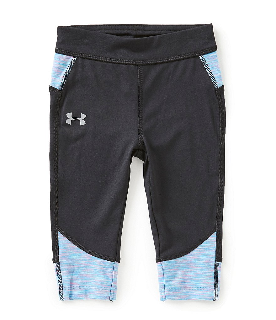 Under Armour Little Girls 2T-6X Studio Capri Leggings