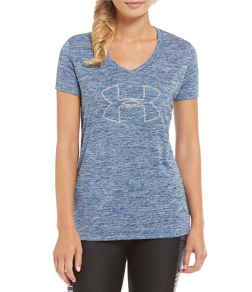 Under Armour Tech Branded Twist Tee