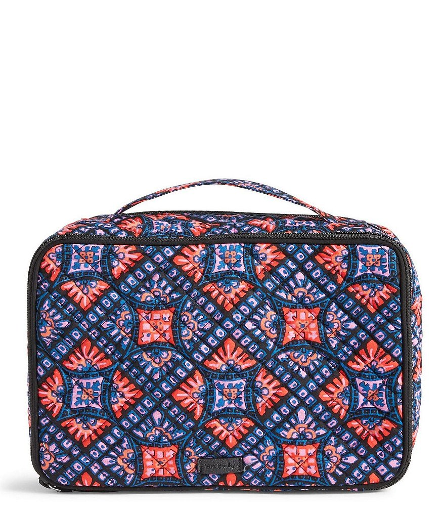 Vera Bradley Iconic Large Makeup Case
