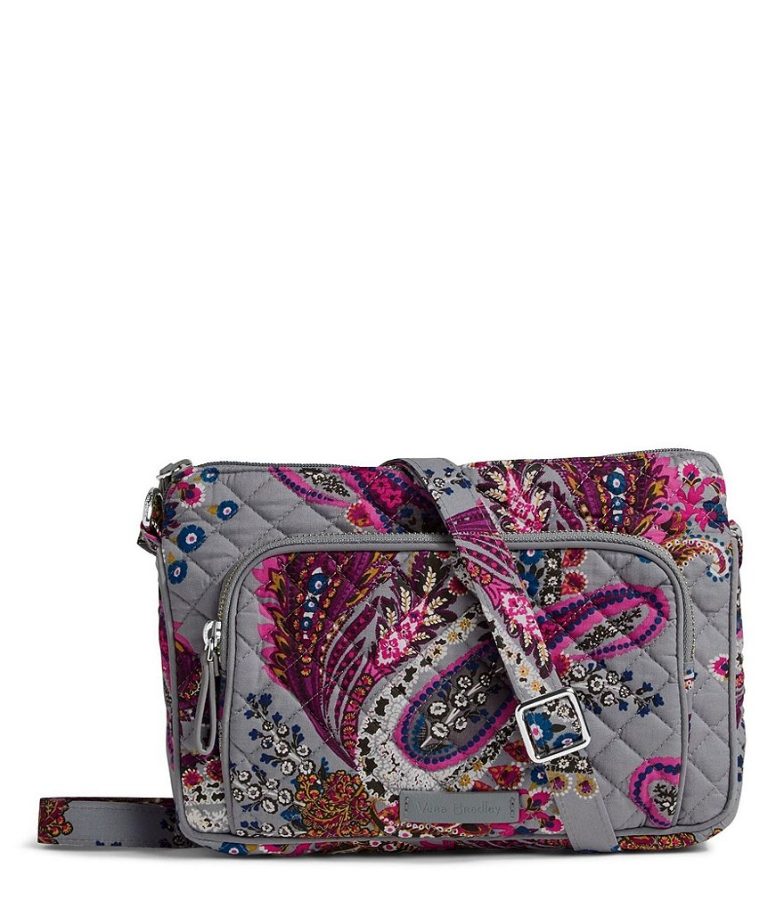 Vera Bradley Iconic RFID Hipster Cross-Body Bag