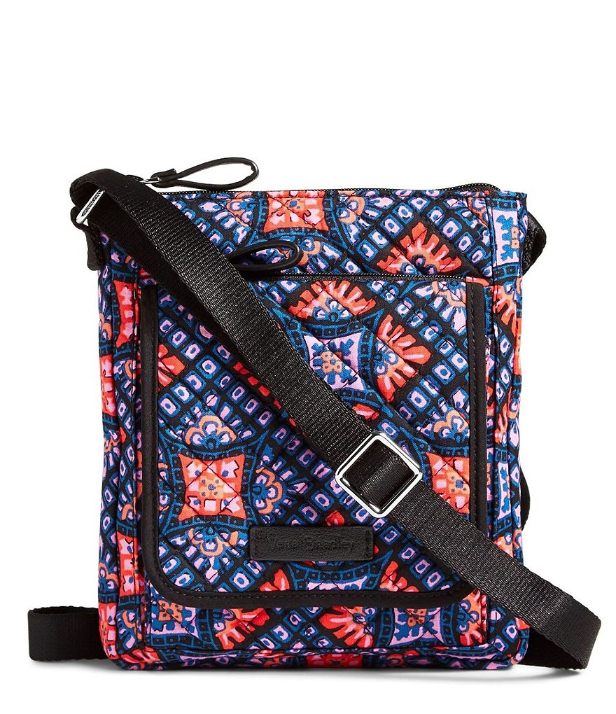 Vera Bradley Iconic RFID Mini Hipster Bag