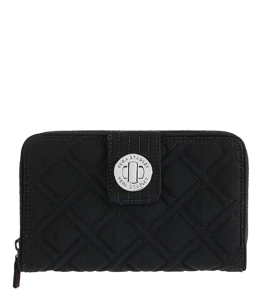 Vera Bradley Quilted Turn Lock Wallet
