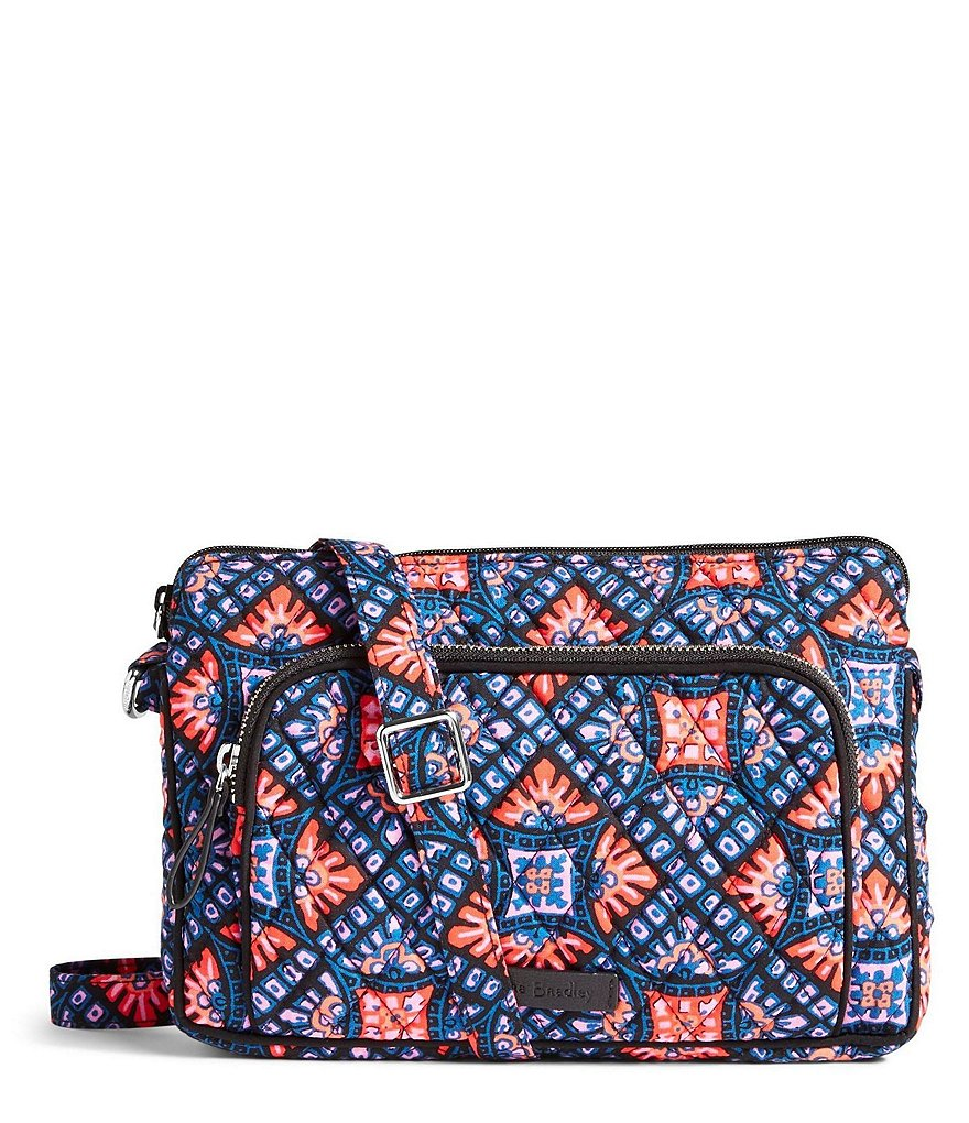Vera Bradley RFID Hipster Cross-Body Bag