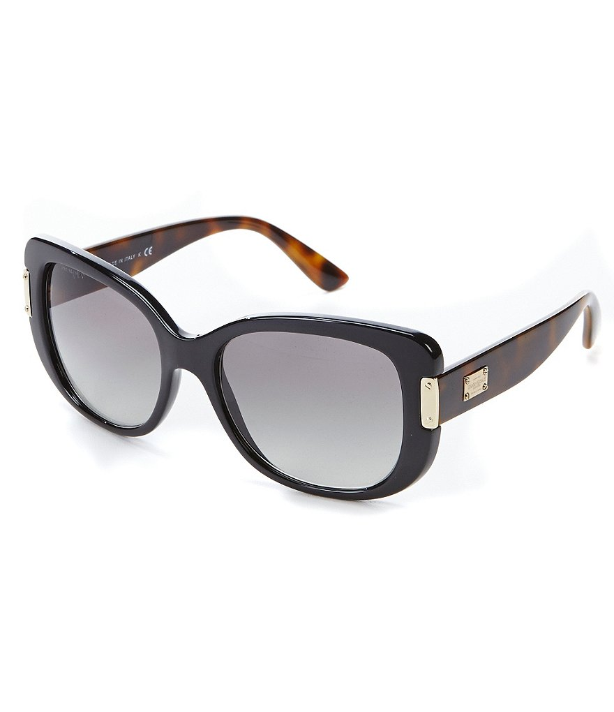 Versace Pop Couture Oversized Square Gradient Sunglasses