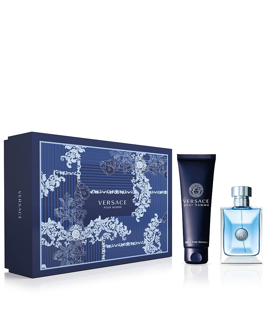 Versace Pour Homme Gift Set With Shower Gel
