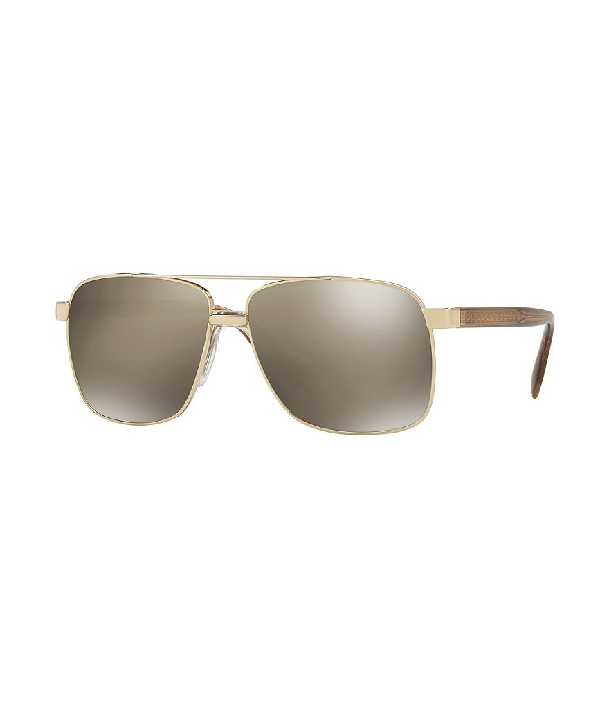 Versace Vanitas Mirrored Square Sunglasses
