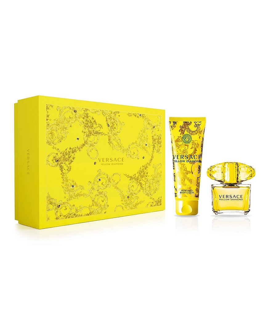 Versace Yellow Diamond Gift Set With Lotion
