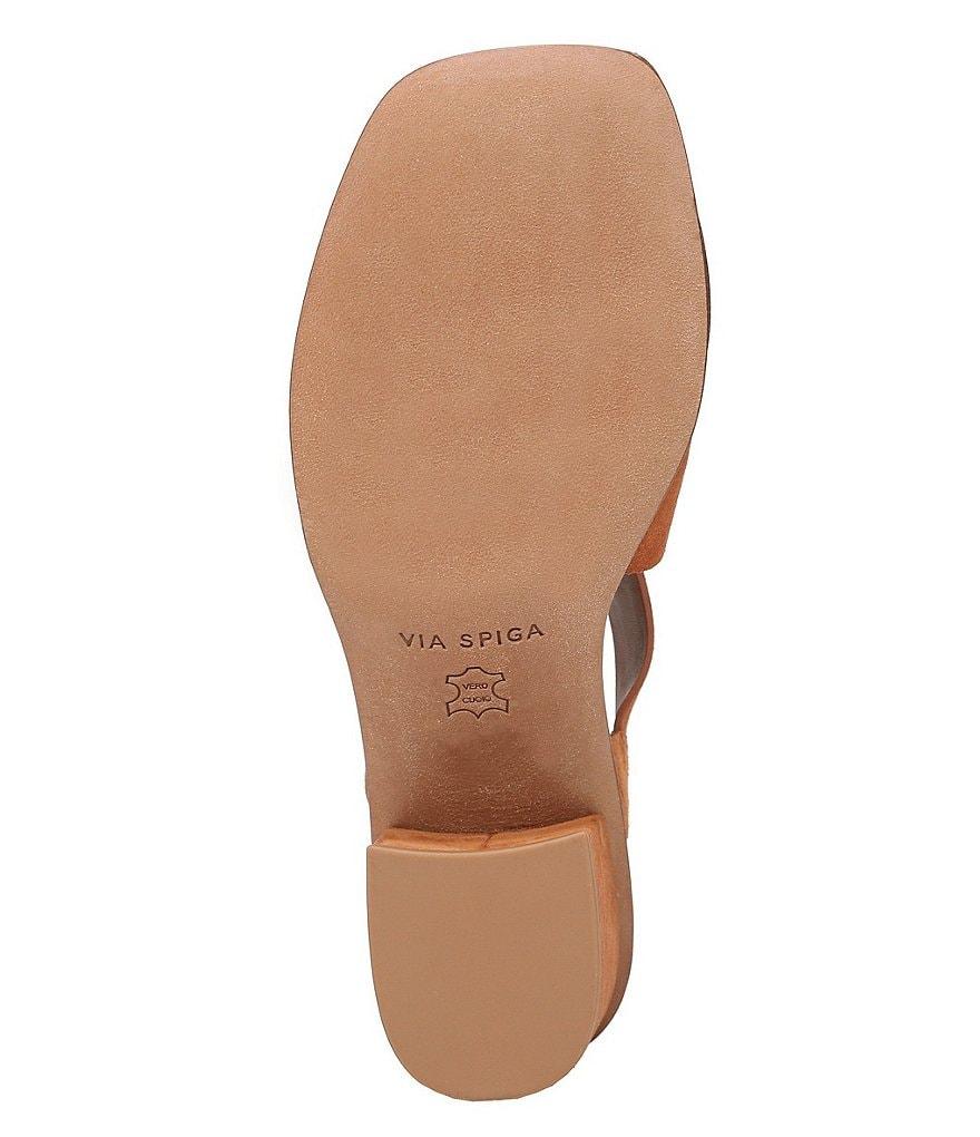spiga katya en sandales daim par bloc au pied des sandales en f3ebb6