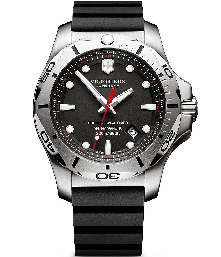 Victorinox Swiss Army I.N.O.X. Luminescent Analog Professional Diver Watch