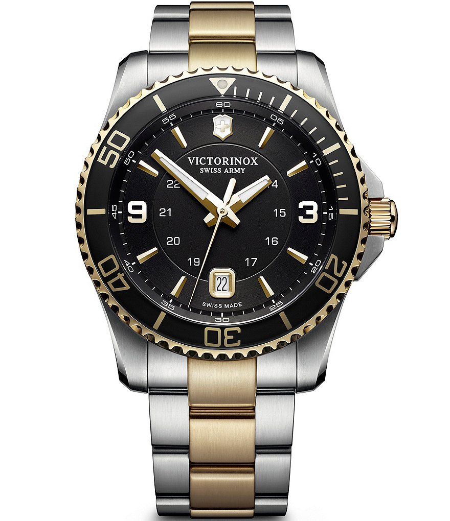Victorinox Swiss Army The Maverick Collection Two Tone Watch