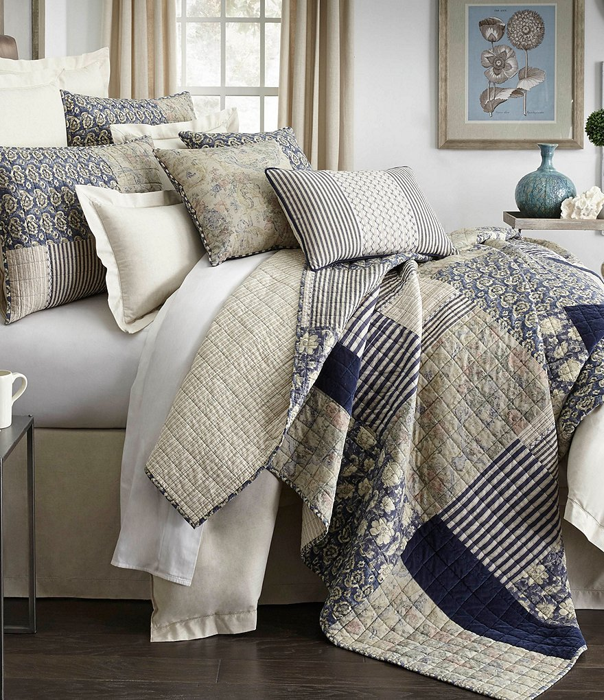 16587a9023be9 Backpack Dillards Bedding Bedding Collections Dillards Villa by Noble  Excellence Adrienne Patchwork Quilt .