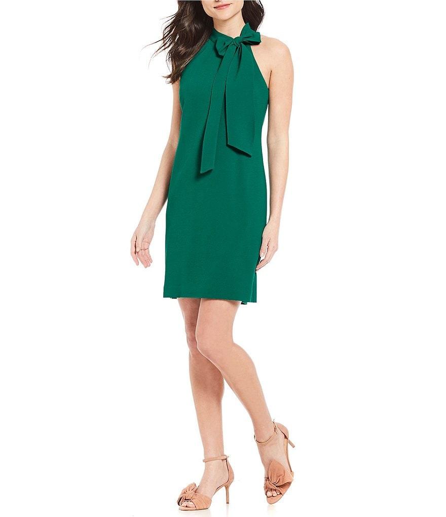 Vince Camuto Bow Neck Dress