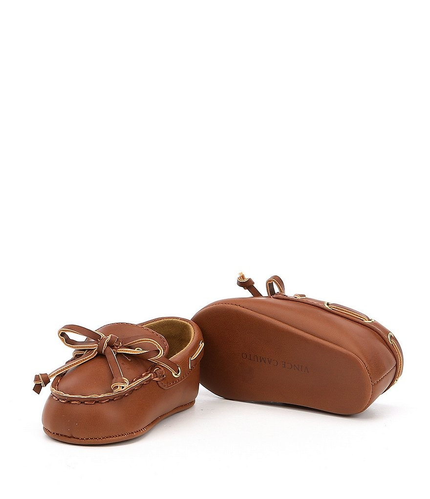 Vince Camuto Boys' Migi Moccasin Crib Shoes