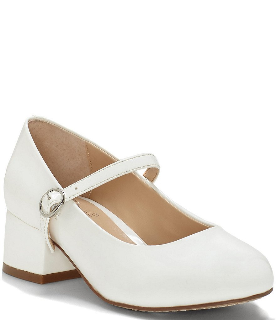 Vince Camuto Girls' Brenna 2 Mary Jane Block Heel Dress Shoes