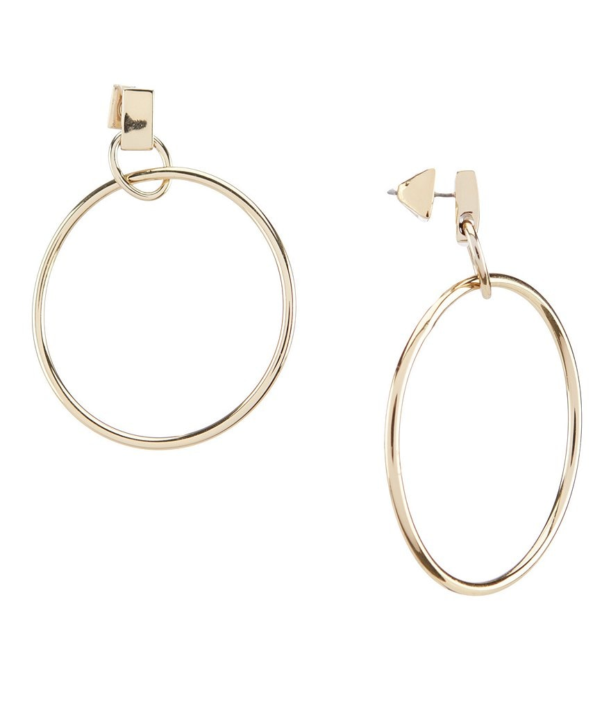 Vince Camuto Metal Hoop Earrings
