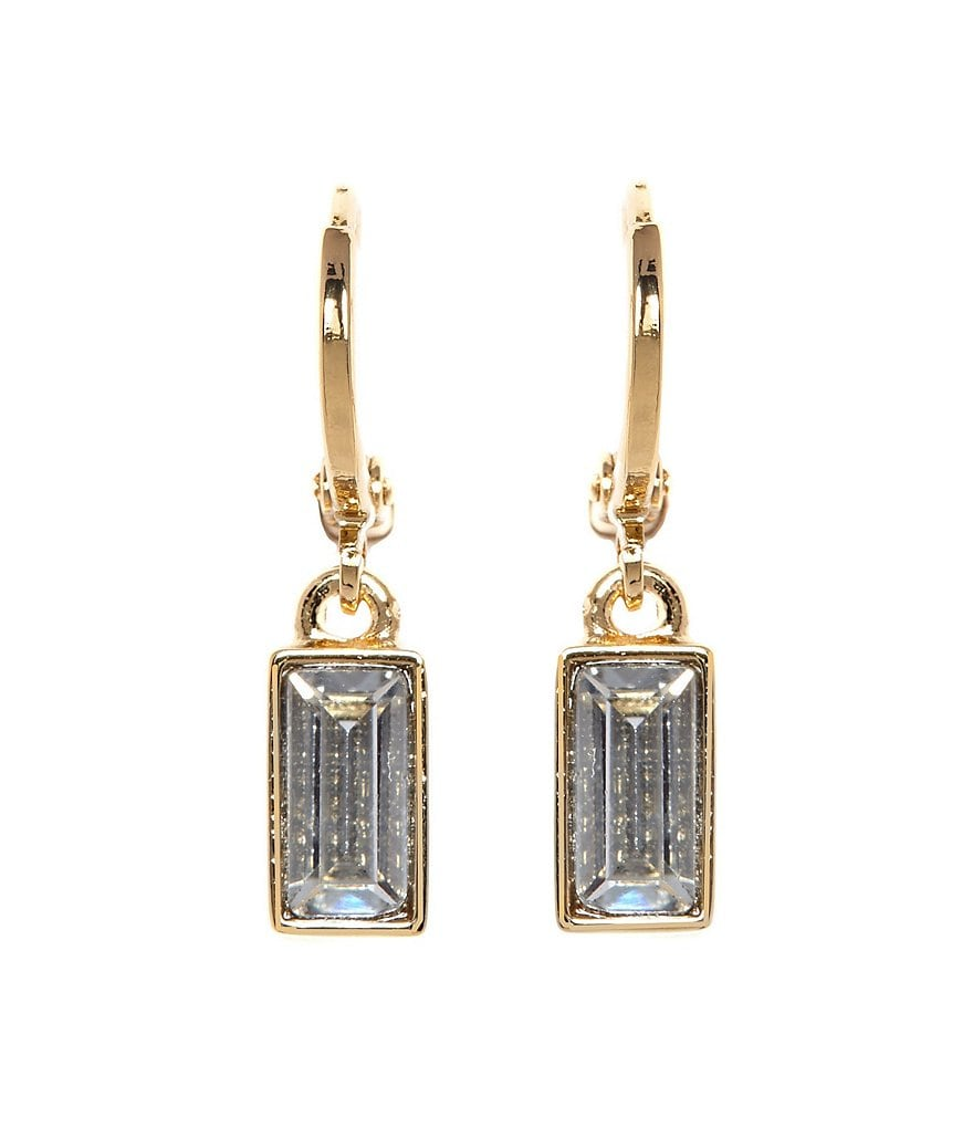 Vince Camuto Museum Baguette Drop Earrings
