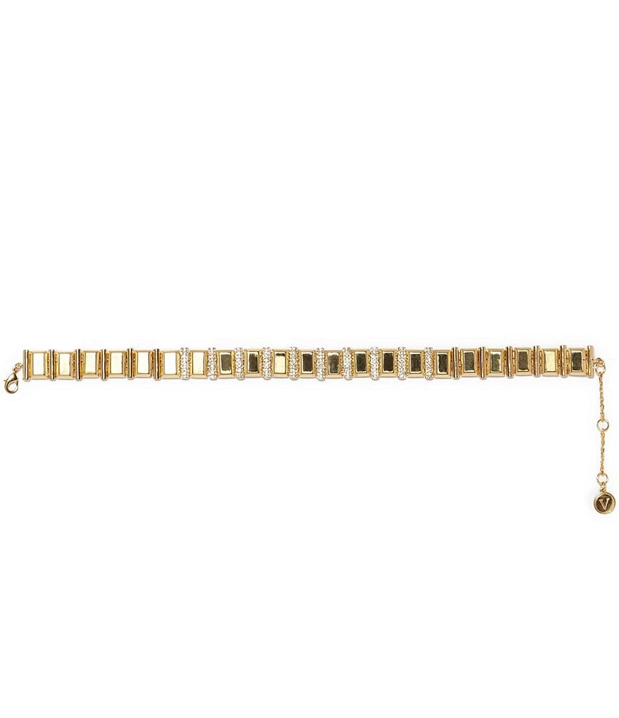 Vince Camuto Pavé Crystal Choker Necklace