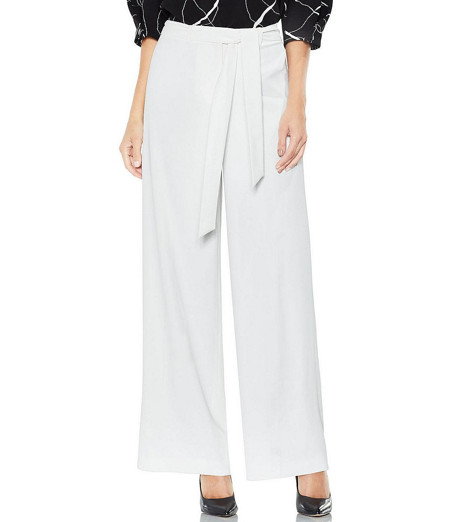 Vince Camuto Texture Base Tie Front Pant